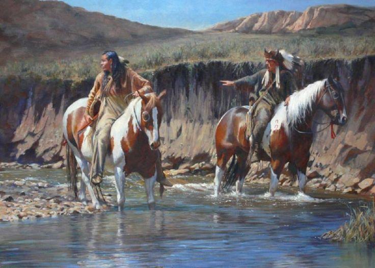 Native American riders