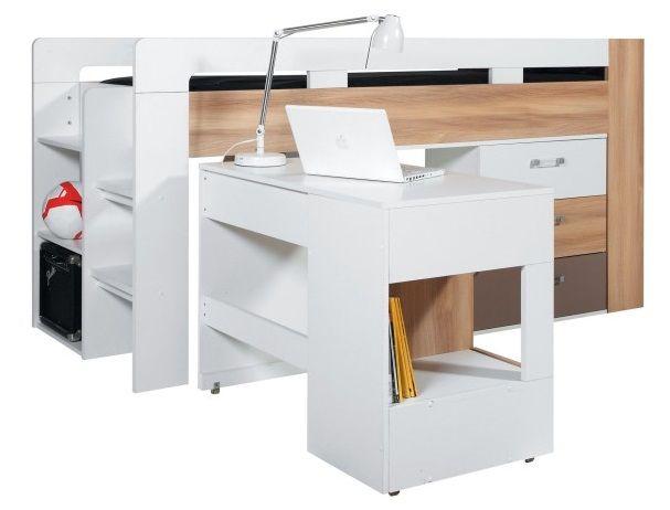Fot. Łóżko piętrowe z biurkiem BLOG 19, LANOmeble