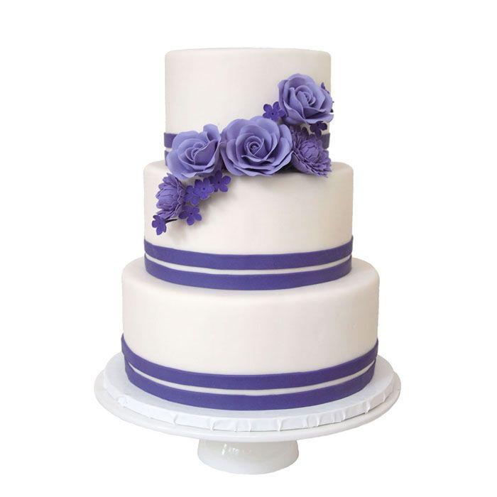 Shades of Purple || Sugarlips Cakes || www.SugarlipsCakes.com