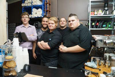 The Saturday crew at CFA