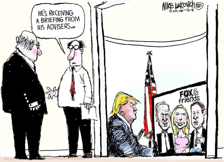 Mike Luckovich by Mike Luckovich for Jan 28, 2018 | Read Comic Strips at GoComics.com