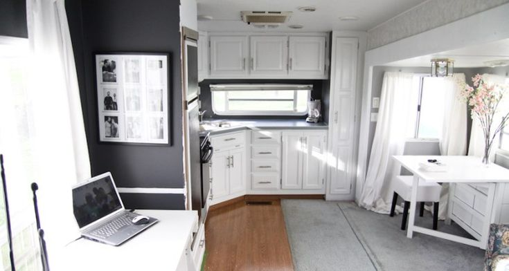 This camper makeover is one of the most beautiful and inspiring camper makeovers ever! Description from mobilehomeliving.org. I searched for this on bing.com/images