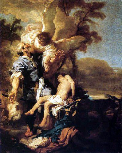Johann (Jan) Liss (Lys, Lis) - The Sacrifice of Isaac
