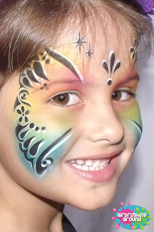 17 best images about body painting on pinterest python for Airbrush tattoo paint
