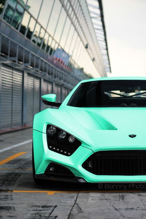 Zenvo - Awesome car - love the color!