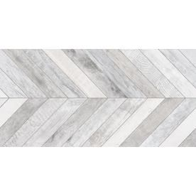 Shop Emser VELOCITY 2-Pack Force Wood Look Porcelain Floor and Wall Tile (Common: 18-in x 36-in; Actual: 17.4-in x 35.04-in) at Lowes.com