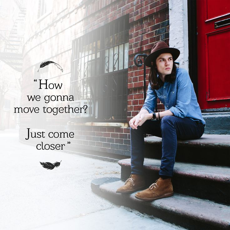 "James Bay, ""Move Together""..."