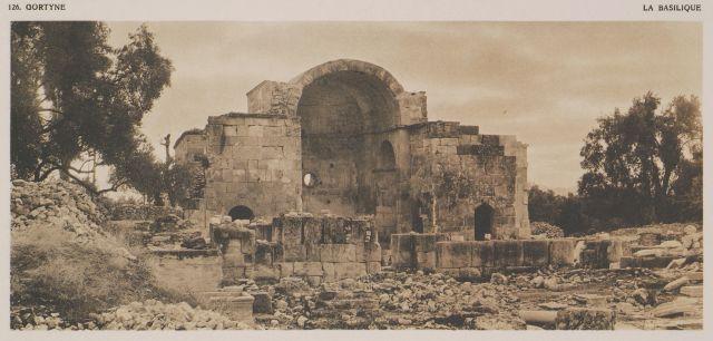 Τίτλος  Παλαιοχριστιανική βασιλική στην Αρχαία Γόρτυνα.  Πρωτότυπος τίτλος…