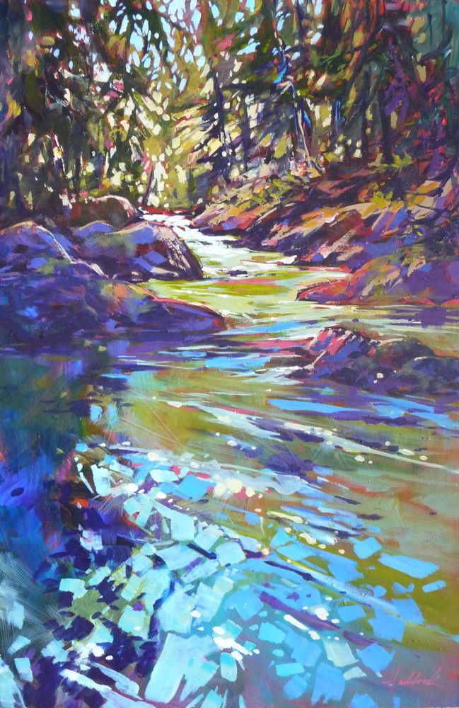 "30x20 Acrylic on canvas. This painting was a Finalist in the April-May 2016 edition of International Artist Magazine ""Landscape Challenge"". Available at Gallery 204, Langley, BC"