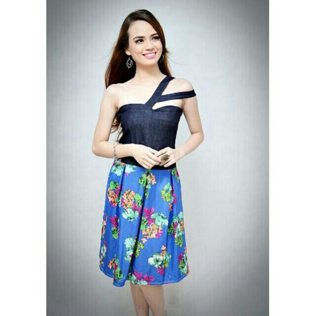 I'm selling Tricia Dress Blue for ₱370. Get it on Shopee now!https://shopee.ph/theshopaholicscabinet/10437162 #ShopeePH