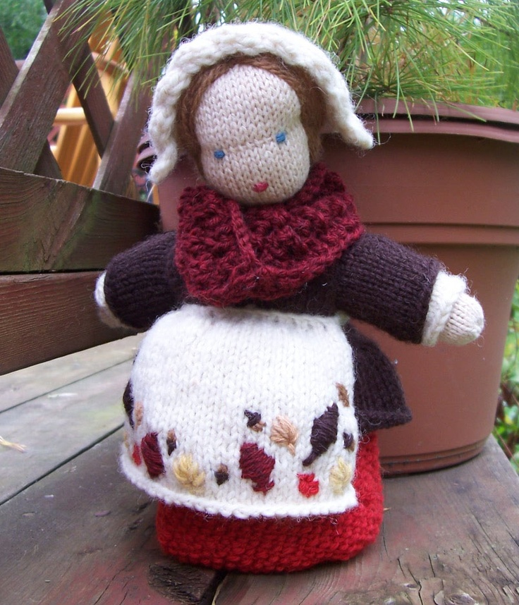 The 109 best knitted dolls patterns images on Pinterest | Knitted ...