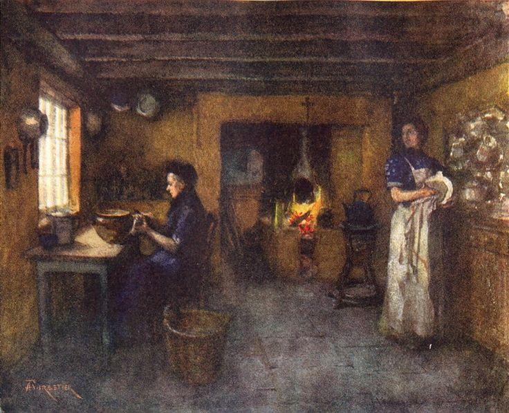 german medieval house interior - Google Search