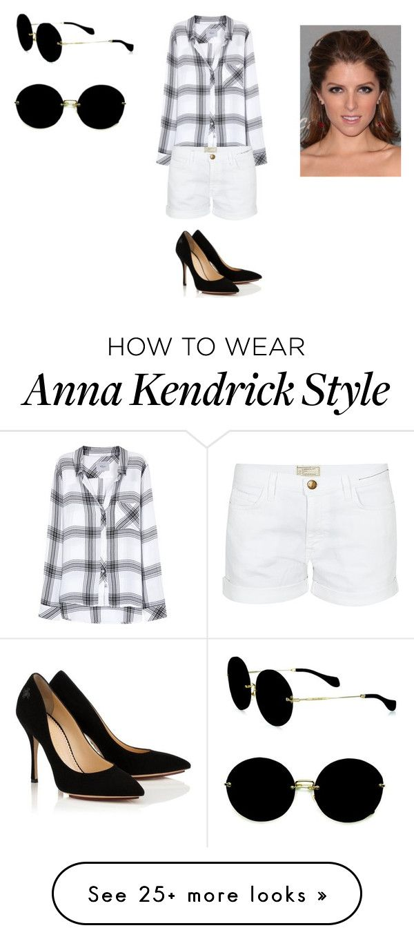 """""""Sans titre #7925"""" by ghilini-l-roquecoquille on Polyvore featuring Rails, Current/Elliott and Miu Miu"""