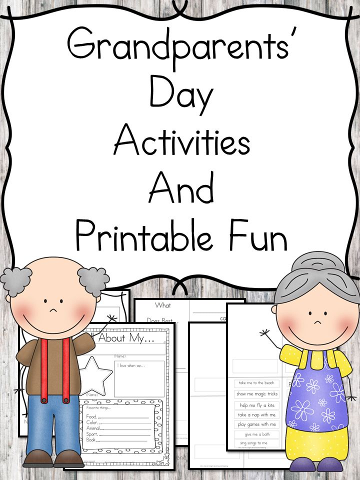 Grandparents day activities for preschool