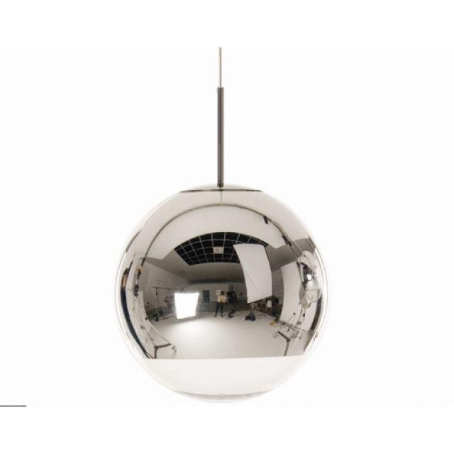 Replica Tom Dixon Mirror Ball Pendant Light-30cm
