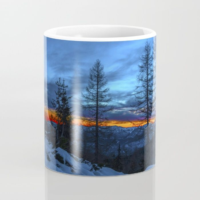 Warm Streak 1 Mug by Mixed Imagery | Society6