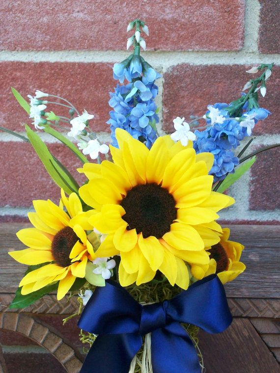 41 best fall church pew decorations images on pinterest wedding sunflower and blue pew bows country wedding decor by onefunday 1650 junglespirit Image collections