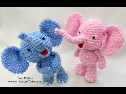 Mariposas en Crochet - YouTube