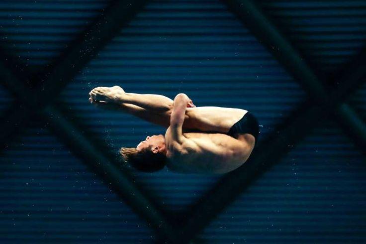 Tom Daley from Dive London Aquatics Club. - JMP/Rex Shutterstock