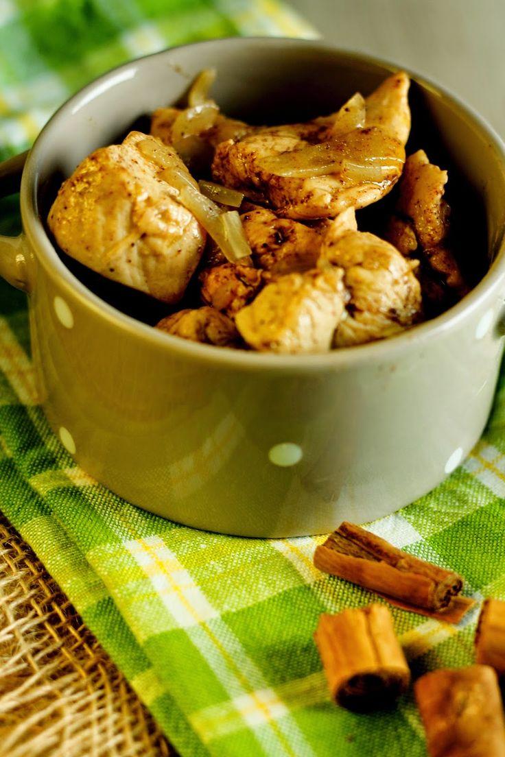 Amici delle Spezie : SPAZIO allo CHEF #1: Nodini di pollo alla cannella