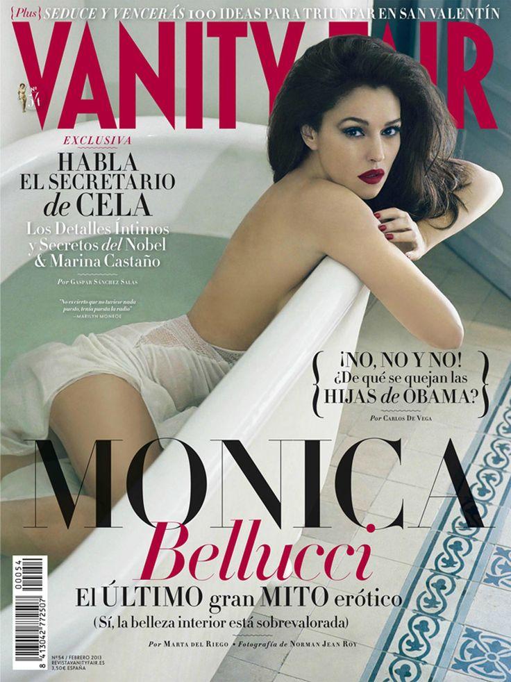 Monica Bellucci, Vanity Fair España February 2013