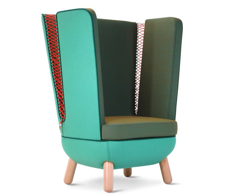 Italian furniture brand Adrenalina debuted Italo Pertichini's SLY seating collection during Milan Design Week and now they've unveiled a new color palette featuring bold Kvadrat fabrics.
