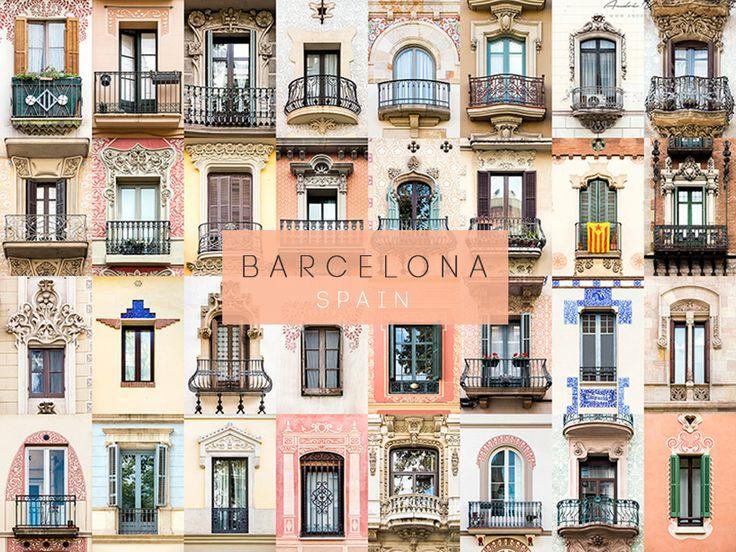 Barcelona, Spain #windows #doors #photography #AllAroundTheWorld #AndreGoncalves #Photographer #Europe #World #Art #Design #Culture #Community #WindowOfTheWorld #DoorsOfTheWorld #designersdome #inspiration #BeInspired #BeautexLuxuryConcepts #since1963