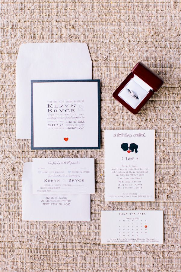 wedding invitations from michaels crafts%0A Simple wedding invitations with heart motif by Invitations for all  Occasions  Photo  Corbin Gurkin