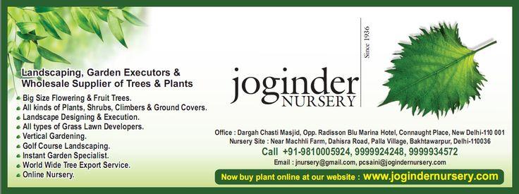 Now buy plants online at www.jogindernursery.com