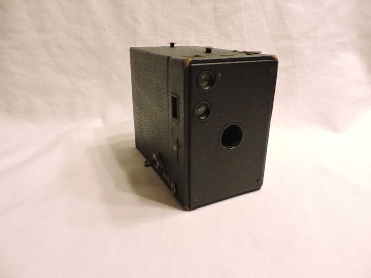 Antique Kodak Brownie No. 2A Box Camera Model B Pat. 1916 Film #116 #Kodak