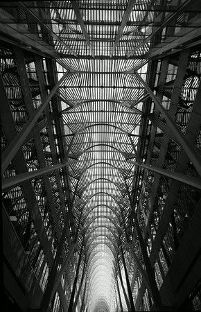 Allan Lambert Galleria, Brookfield Place, Toronto - architect Santiago Calatrava. Urban landscape, travel and tourism. Commercial architecture photography by Jeanne McRight, Pix Photography.