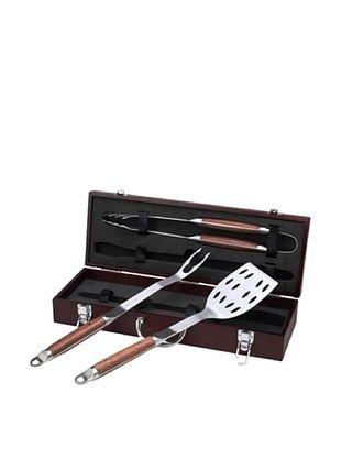 42% OFF Picnic at Ascot BBQ Tool Set, Wood Box
