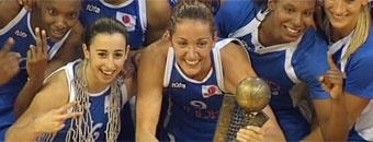 El Ciudad Ros Casares se proclamó campeón de la Euroliga de baloncesto femenino tras derrotar al Rivas Ecópolis en una final con claro aroma español