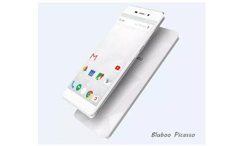 Bluboo Picasso, Ponsel Desain Pola Reflektif Harga Murah