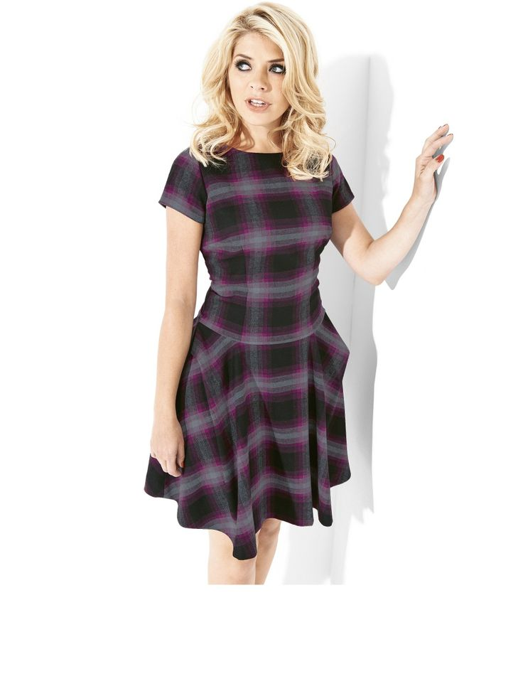 tartan holly willoughby dress