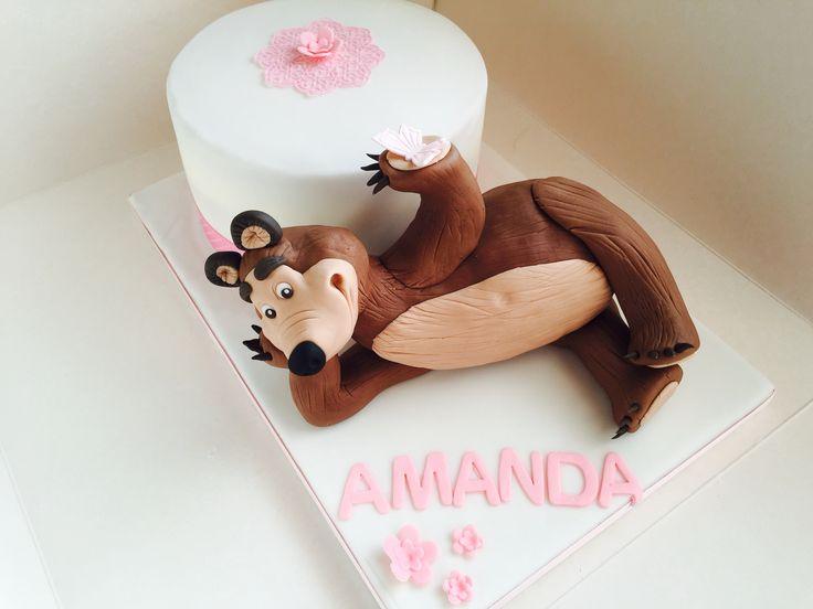 Masha and the Bear cake!