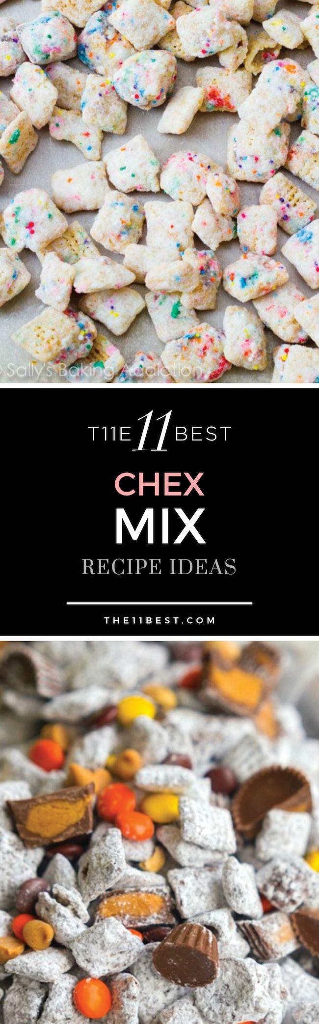 Chex Mix Recipe Ideas (Chex Mix)