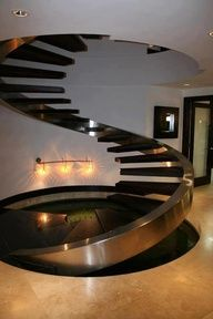 diseos de escaleras en espiral