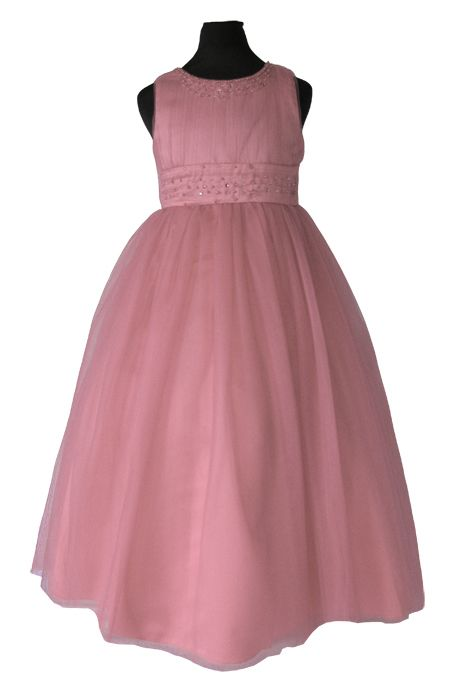 3037653fcc3 ΠΡΟΣΦΟΡΑ ΓΙΑ 2-3 ΧΡΟΝΩΝ, Πανέμορφο Παιδικό Φόρεμα Μακρύ για Παρανυφάκι ή  Πάρτυ σε Ροζ