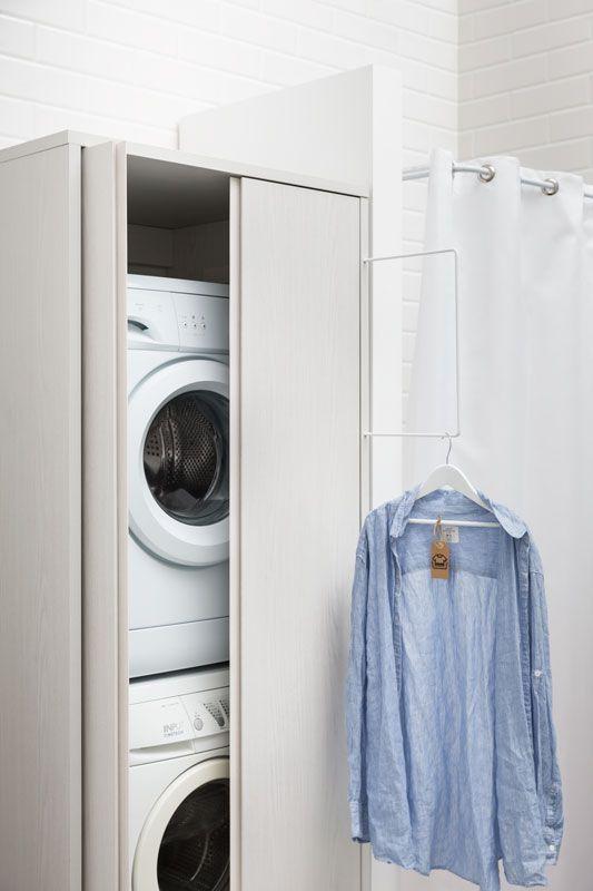 Soluzioni Arredo Bagno Lavanderia.Come Nascondere Una Lavatrice In Bagno Guida Con Foto