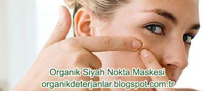 Organik Deterjan: Siyah Noktalar için Organik Maske