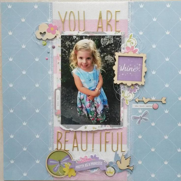 You Are Beautiful - Scrapbook.com
