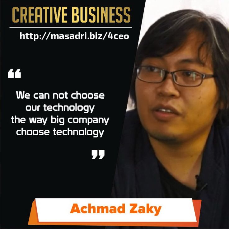 technology... #motivasibisnis