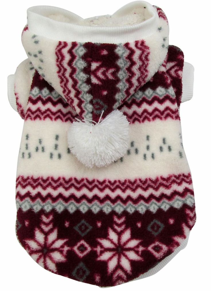 Evergreens Red Snow Design Pet Dogs Winter Vest Coat (L): Amazon.co.uk: Pet Supplies