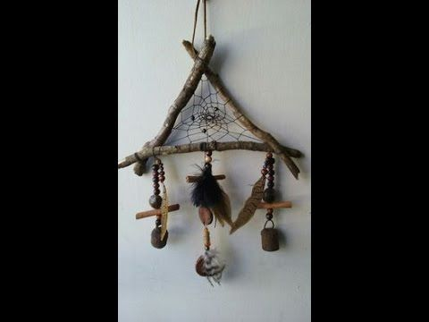"""Branch Dreamcatcher - D.I.Y.- """"Into the Woods""""- The Gypsy & The Witch"""