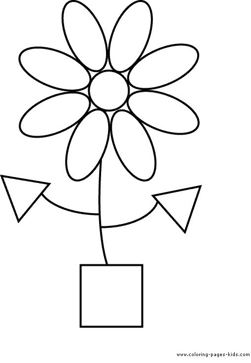 139 best preschool shapes and colors images on pinterest preschool shapes preschool ideas and teaching shapes - Shape Coloring Pages Toddlers