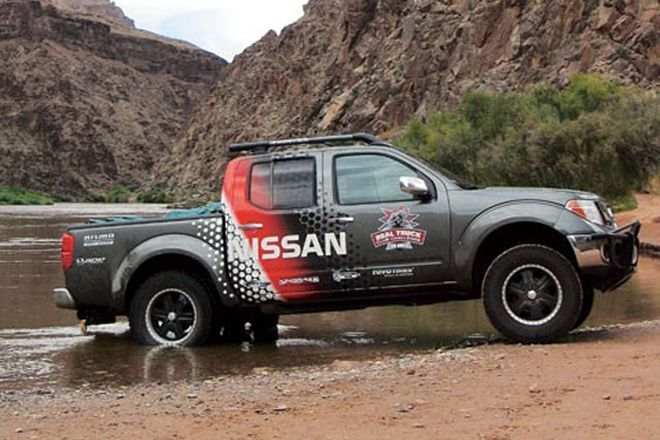 Check out part 4 of our Project 2005 Nissan Nismo Frontier where we show you how to wire the factory locker to work in high-range and two-wheel drive! Details inside Four Wheeler Magazine.