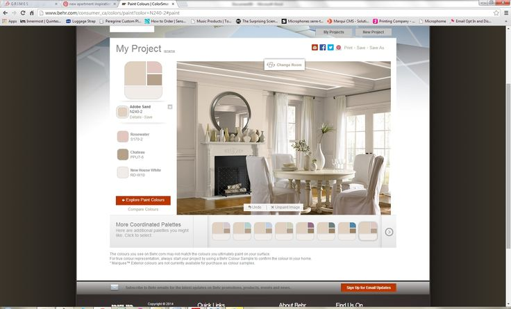 Behr Paint Adobe Sand Living Room New Apartment