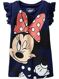 Disney© Minnie Mouse Flutter-Sleeve Tees for Baby
