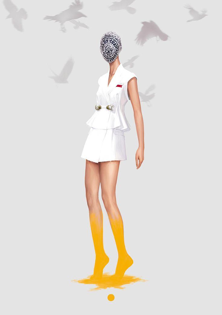 Margiela for VSPAIN    Maison Martin Margiela Haute Couture AW13 for VSPAIN. 2012 (Ignasi Monreal)